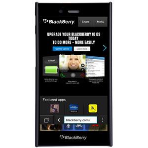 Nillkin Super Frosted Shield BlackBerry Z3 Case - Black