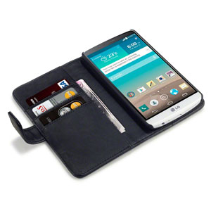 Adarga LG G3 Leather-Style Wallet Case