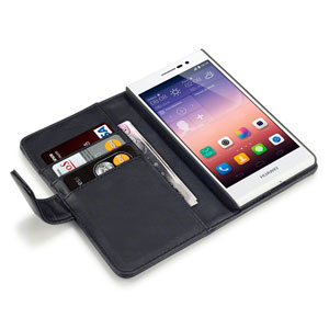 Adarga Ascend P7 Leather-Style Wallet Case