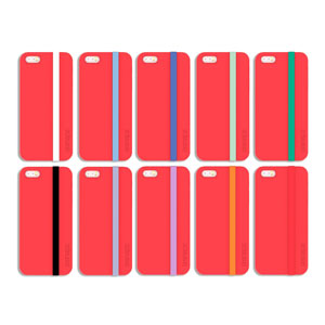Snapz Case for iPhone 5S / 5 - Red