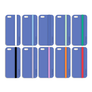 Snapz Case for iPhone 5S / 5 - Blue