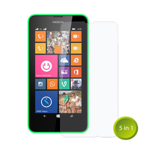 The Ultimate Nokia Lumia 630 Accessory Pack
