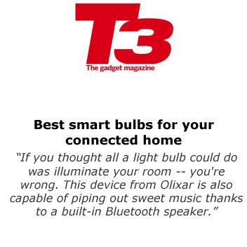 Olixar Light Beats Bluetooth Speaker Bulb