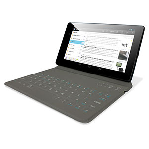 Olixar Wireless Bluetooth Tablet Keyboard Case - 7-8 Inch