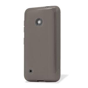 Flexishield Nokia Lumia 530 Gel Case - Smoke Black