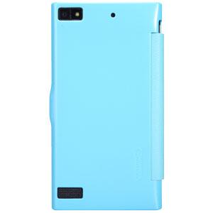 Nillkin Fresh Faux Leather BlackBerry Z3 View Case - Blue
