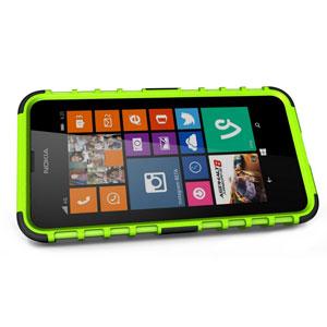 Armourdillo Hybrid Nokia Lumia 630 Protective Case - Green