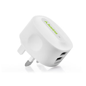 Avantree 2.1A Dual USB Wall Charger