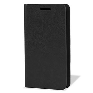 Encase Leather-Style Nokia Lumia 630 Wallet Case With Stand - Black