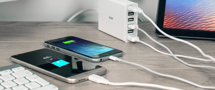 Olixar 6 USB Smart IC Charger - 10 Amps