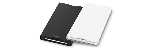 Official Sony Xperia C3 Style Cover Stand Case - Black