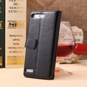 Encase Leather Style EE Kestrel Wallet Case - Black