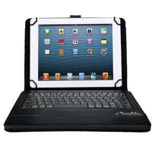 Kit: Universal Bluetooth Keyboard Case for 9-10 Inch Tablets