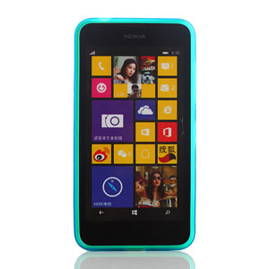 Flexishield Nokia Lumia 635 / 630 Gel Case - Blue