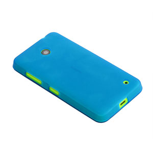 Flexishield Nokia Lumia 635 / 630 Gel Case - Blue