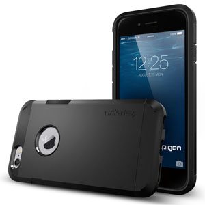 Funda iPhone 6s / 6 Spigen Tough Armor - Negra