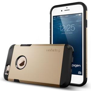 Spigen Tough Armor iPhone 6 Case - Gold