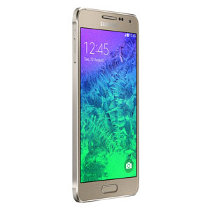 SIM Free Samsung Galaxy Alpha 32GB - Gold