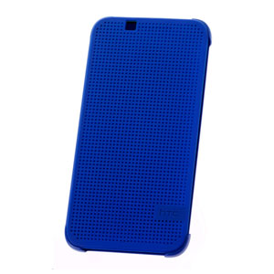 Official HTC Desire 510 Dot View Case - Imperial Blue