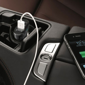 Aukey 4 Port USB 9.6A Car Charger - Black
