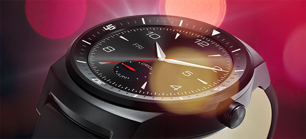 LG G Watch R for Android Smartphones - Black