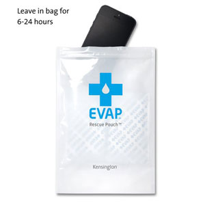 Kensington EVAP Wet Electronics Rescue Pouch