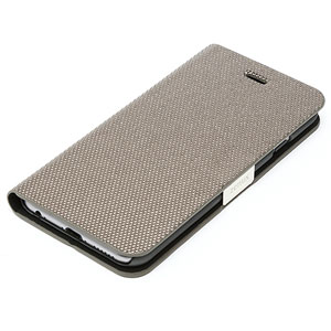 Zenus Metallic Diary iPhone 6 Case - Silver