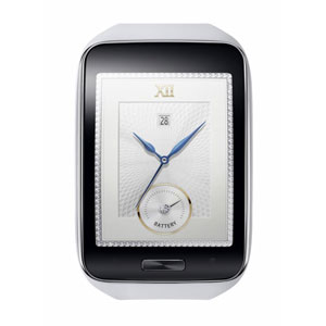 Samsung Galaxy Gear S Smartwatch - White