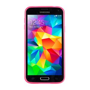 Gecko Glow Samsung Galaxy S5 Glow in the Dark Case - Pink