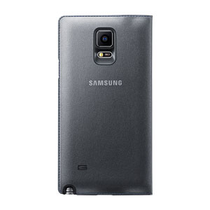 Official Samsung Galaxy Note 4 LED Cover - Black