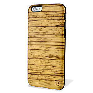 Man&Wood iPhone 6 Wooden Case - Zebrano