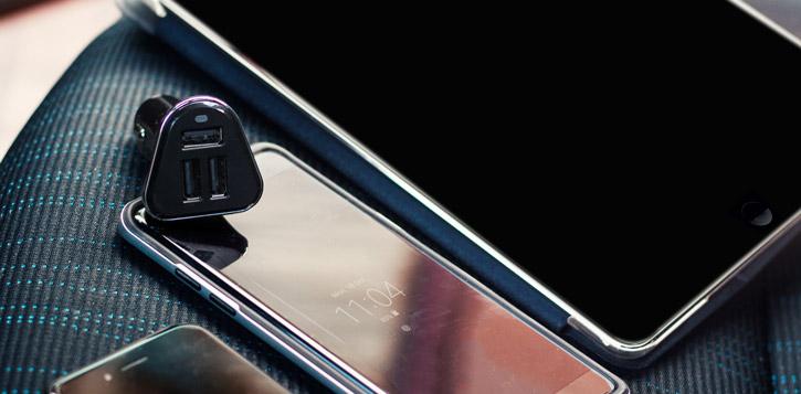 Chargeur Voiture 5.2A Olixar 3 Ports USB – Noire