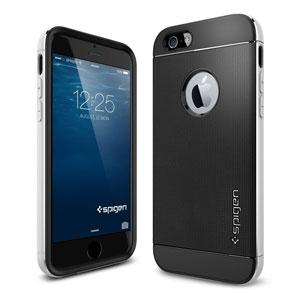 Coque iPhone 6 Spigen SGP Neo Hybrid Metal - Argent