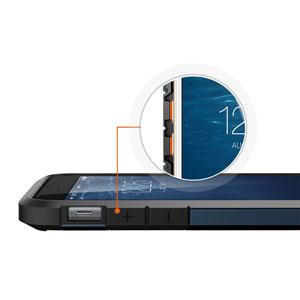 Spigen Tough Armor S iPhone 6 Case - Metal Slate
