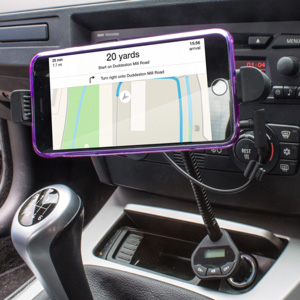 iPhone 6S / 6S Plus Car Holder, Charger & FM Transmitter
