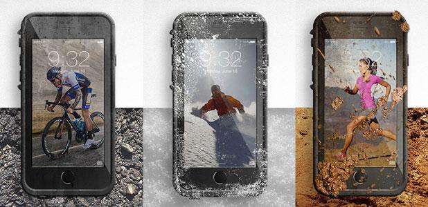 LifeProof Fre iPhone 6 Waterproof Case - White / Grey