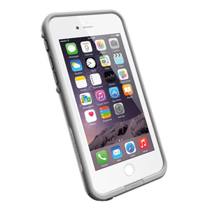 LifeProof Fre iPhone 6 Waterproof Case - White / Grey