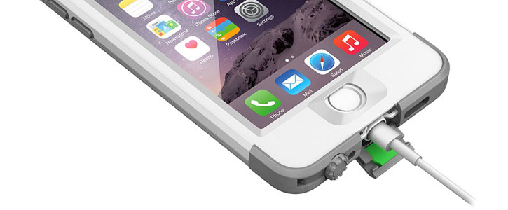 LifeProof Nuud iPhone 6 Case - White / Grey