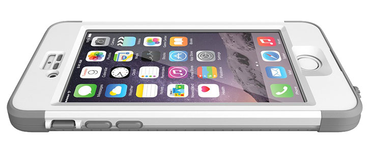 brand new 50e9f 62514 iPhone 6 Plus 5.5' Lifeproof Nuud Series WaterProof Cover Case - White