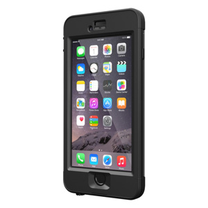 LifeProof Nuud iPhone 6 Plus Case - Black