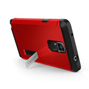 Spigen Tough Armor Samsung Galaxy Note 4 Case - Red