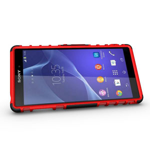 Encase ArmourDillo Sony Xperia Z3 Protective Case - Red