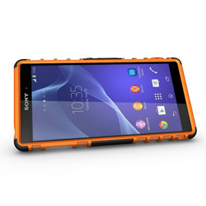 Encase ArmourDillo Sony Xperia Z3 Protective Case - Orange