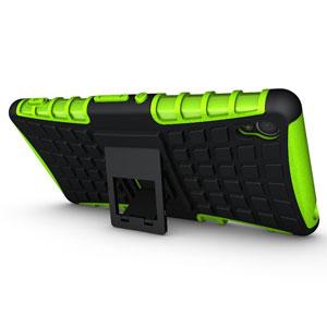 Encase ArmourDillo Sony Xperia Z3 Protective Case - Green