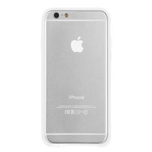 Case-Mate Tough Frame iPhone 6 Bumper - Clear / White