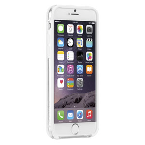 Case-Mate Tough Frame iPhone 6 Bumper - Clear / White