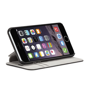 Case-Mate Stand Folio iPhone 6 Plus Case - Black / Grey
