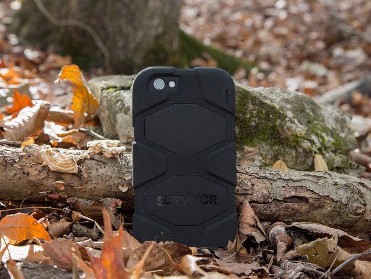 Griffin Survivor iPhone 6S / 6 All -Terrain Case - Black