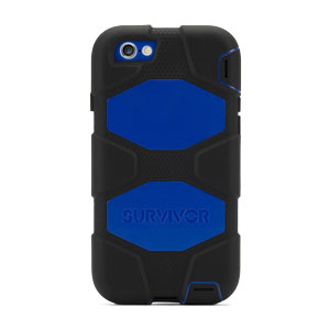 Griffin Survivor iPhone 6 All-Terrain Case - Black / Blue