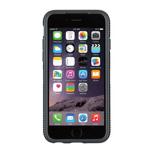 SpeckCandyShell Grip iPhone 6 Case - Black / Grey